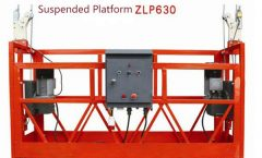 10M Powered Aluminum Rope Platform Suspended Platform ZLP1000 Single Phase 2 * 22kw