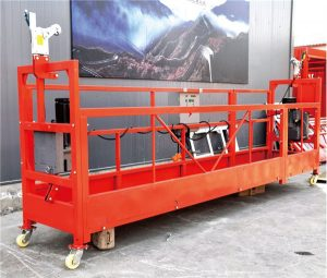 75M customized 800 Kg suspended platforms for cleaning cleaning, pin-type